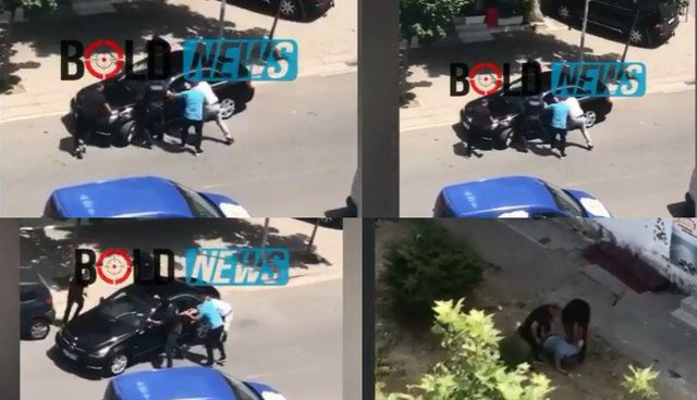 """VIDEO/ Si skenë filmi, """"Benzi"""" lukzoz i ikën RENEA-s"""