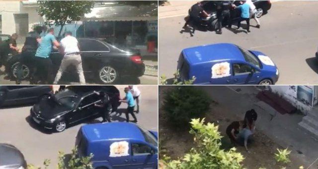 """VIDEO/ Si skenë filmi, """"Benzi"""" luksoz i ikën RENEA-s"""