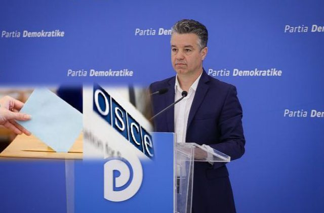 OSCE report on elections, Bozdo shows what PD should do to prevent the scenario