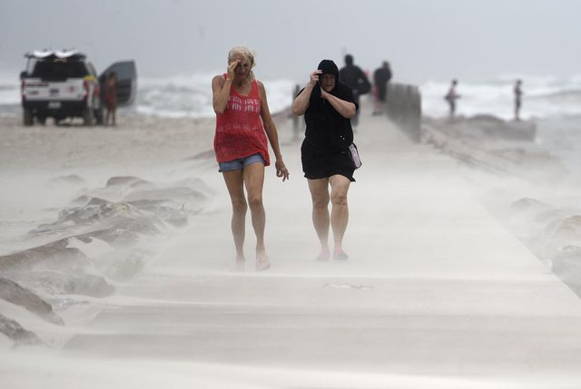 The US is hit by another tropical storm, rainfall of up to 20 cm is expected
