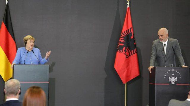 A e eklipsoi Angela Merkel nismën 'Open Balkan'?