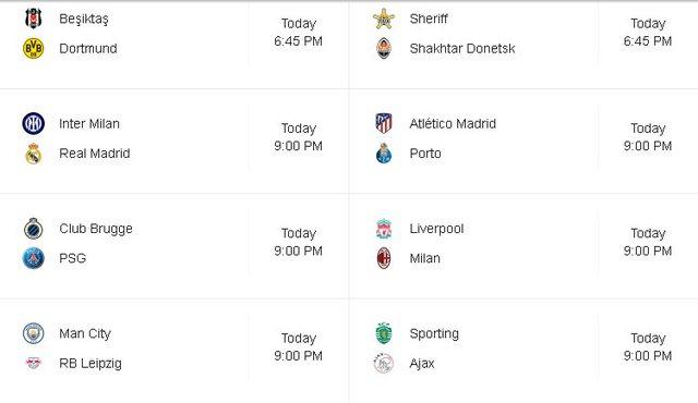 8 përballjet e radhës në Champions League/ 'Ankthi'