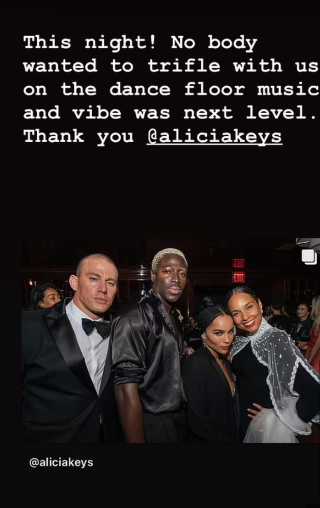 Channing Tatum and Zoe Kravitz confirm their connection