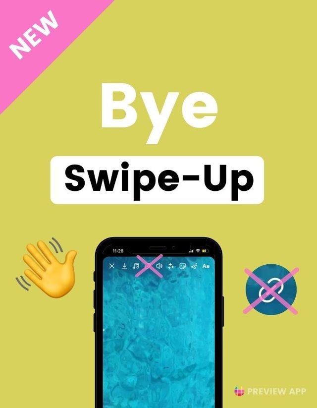 """Instagrami heq opsionin """"Swipe Up"""" dhe e zëvendëson atë"""