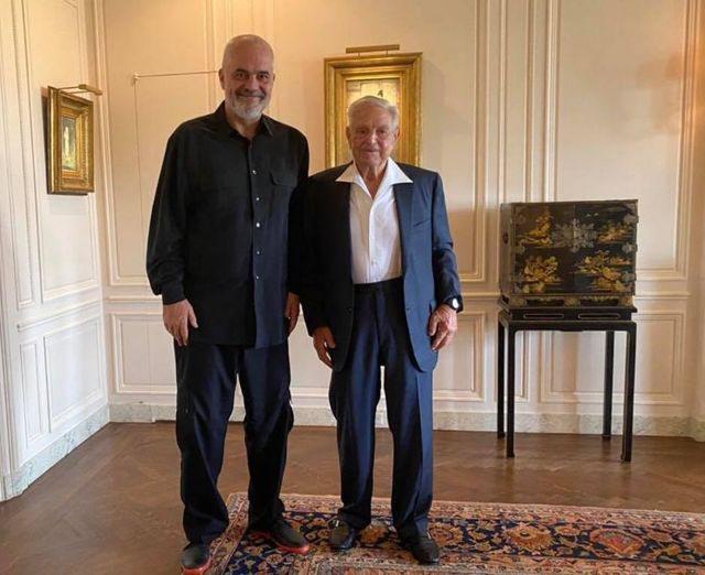 Sfidon Berishën? Rama takon George Soros në Nju Jork: Mik i
