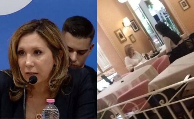 """U shfaq krah Berishës në """"Foltore"""", Evi Kokalari mike e"""