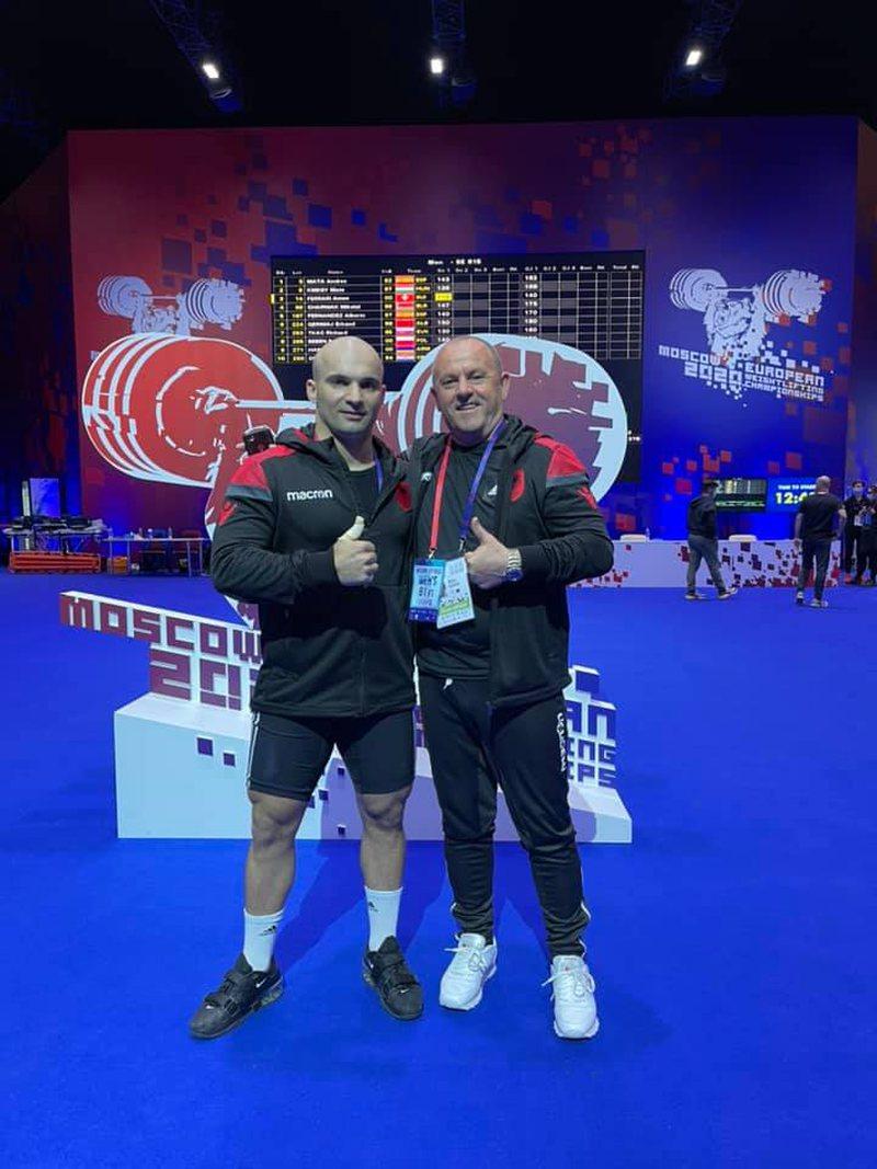 Kampionati Europian në Moskë, Qerimaj renditet i dyti: Pata