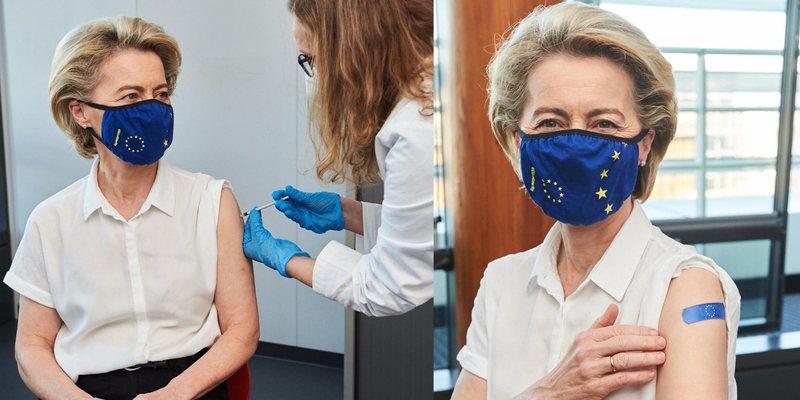 Presidentja e Komisionit Europian vaksinohet kundër Covid-it: Jam