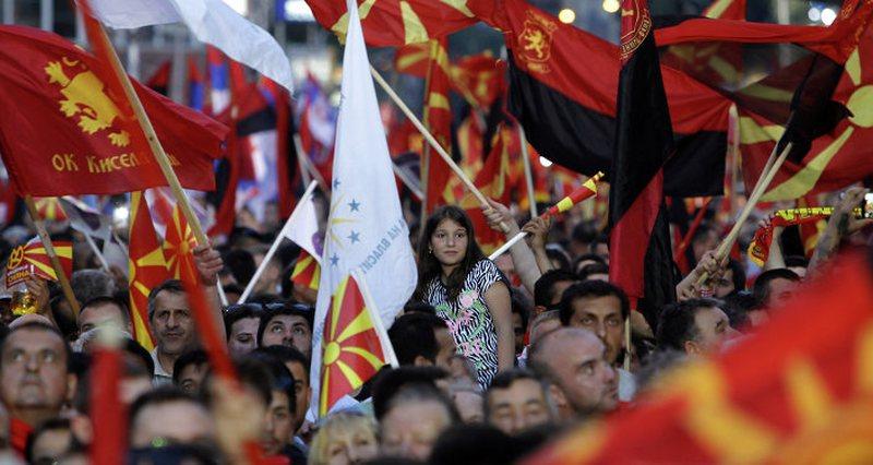 Nuk ka lajm: Vazhdojnë protestat antishqiptare në Maqedoni