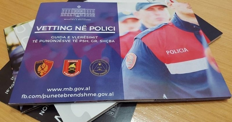 Vetingu në polici/ Shpallen vendet vakante për anëtarë