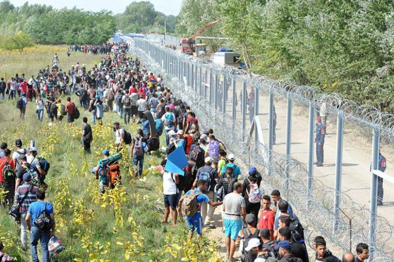 Ligj i ri në Hungari, kush ndihmon refugjatët dënohet me 1 vit