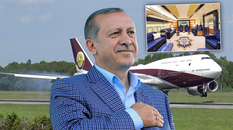Avioni 400 milion dollarësh dhuratë për Erdogan
