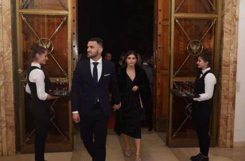 Armando Sadiku del për herë të parë me të fejuarën