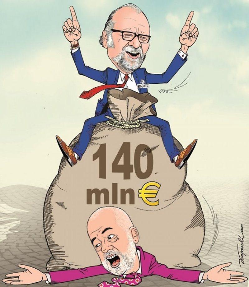 Rasti Becchetti në 'syrin' e Bujar Kapexhiut, ish-deputeti: Kjo karikaturë  ka një gabim - KRYESORE