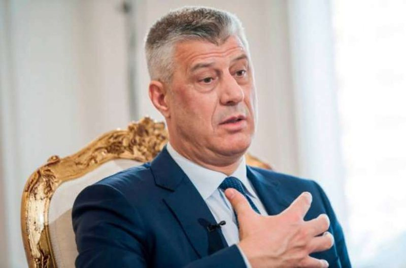 PM Thaci Not Going to Sarajevo Summit, Says It is Because of Dodik