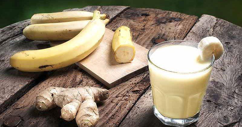 Banane me xhinxher, kombinimi i fuqishëm që largon yndyrnat në