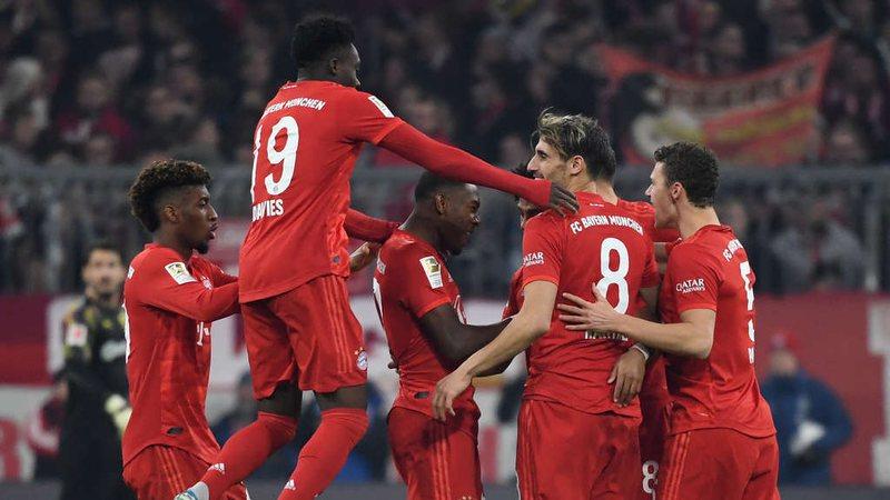 """E shtuna e goleadave: Bayern dhe Real festojnë me """"poker"""""""