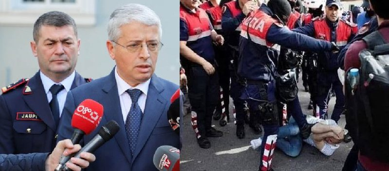 Përplasjet në protestë, Lleshaj: Shteti duhet ta