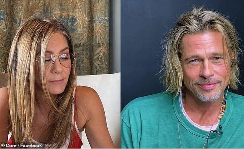 """""""Je shumë seksi"""", interpretimi virtual i Jennifer Aniston me Brad"""
