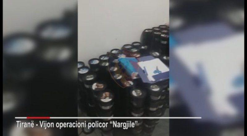 Kontrabandë nargjileje në Tiranë, arrestohen 2 persona dhe
