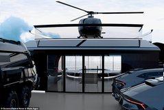 Prezantohet në Holandë jahti luksoz me laborator, helikopter dhe