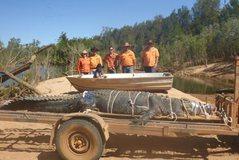 Kapet krokodili gjigant në Australi, jeton prej 60 viteve (Video)