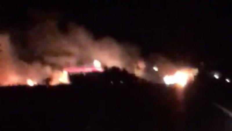 Karburanti shpërthen në flakë, Policia e Lezhës jep detaje: