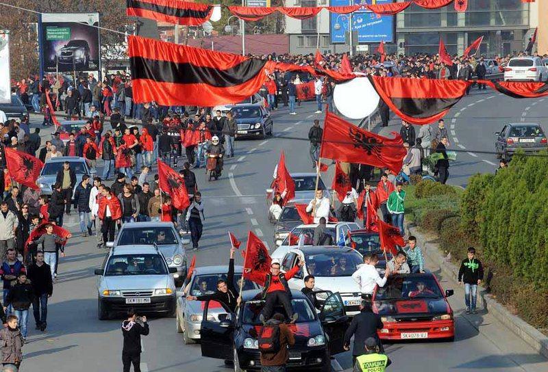 """Shqiptarët e SHBA protesta për rastin """"Monstra"""""""