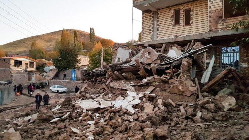 Tërmeti i fuqishëm godet Iranin, shumë shkatërrohen