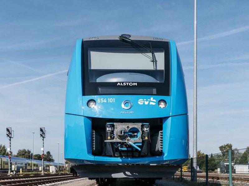 Gjermania teston trenin e parë me hidrogjen