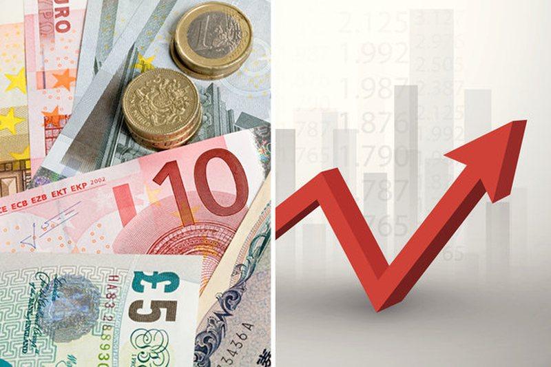 Nuk ndalet Euro, rritet edhe Dollari dhe Paundi britanik