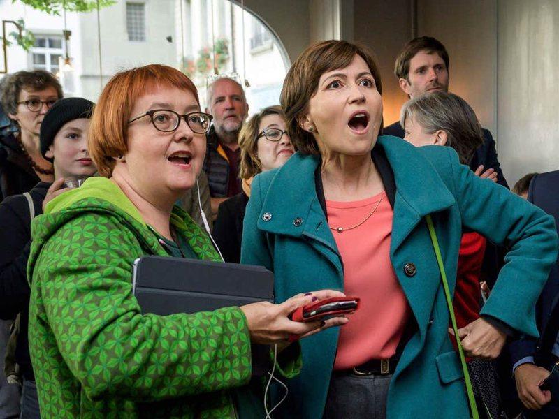 Zvicër, partitë e Gjelbra festojnë fitoren historike në