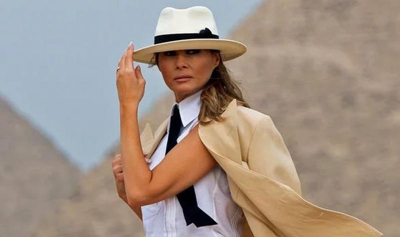 Melania Trump përgënjeshtrohet nga fotografi: Nuk ka qenë