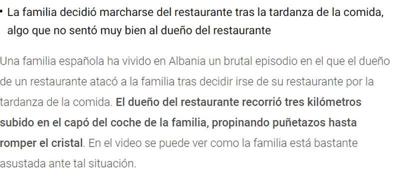 Mediat spanjolle i bëjnë jehonë dhunës ndaj turistëve,