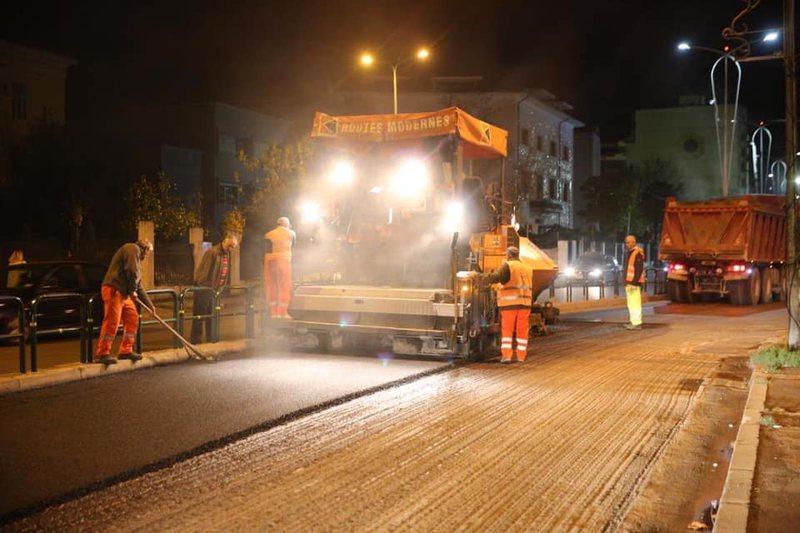 Asfaltohet rruga e Elbasanit, Veliaj: Pas mega-kolektorit nëntokësor,