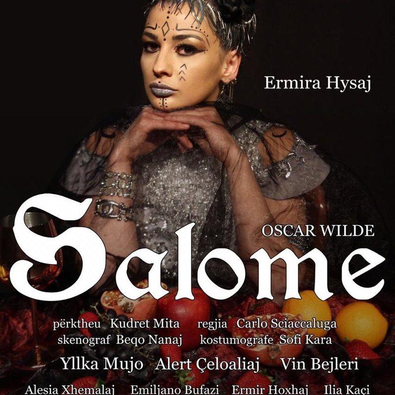 """Ermira Hysaj me Salomen e Oscar Wilde, në teatrin """"Migjeni"""""""