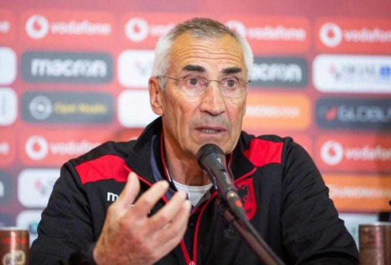 Ndeshja Turqi-Shqipëri/ Trajneri Reja del në konferencë për