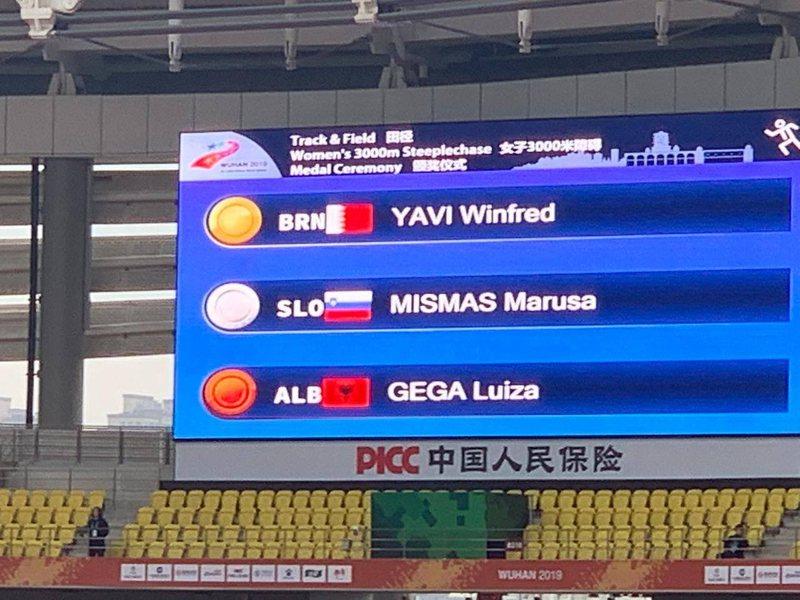 Luiza Gega korr suksesin e radhës, merr medalje bronzi në