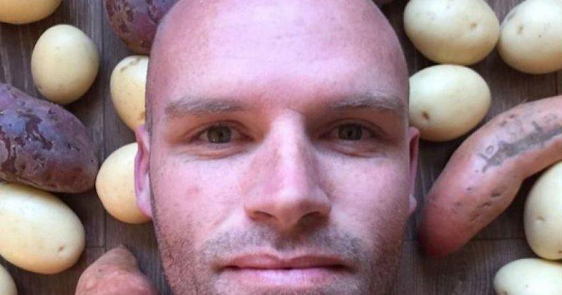 Hëngri vetëm patate për 1 vit rresht, ajo që i ndodhi i