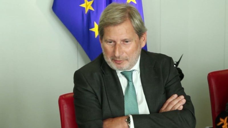 Franca shtyn për vitin tjetër hapjen e negociatave? Johanes Hahn