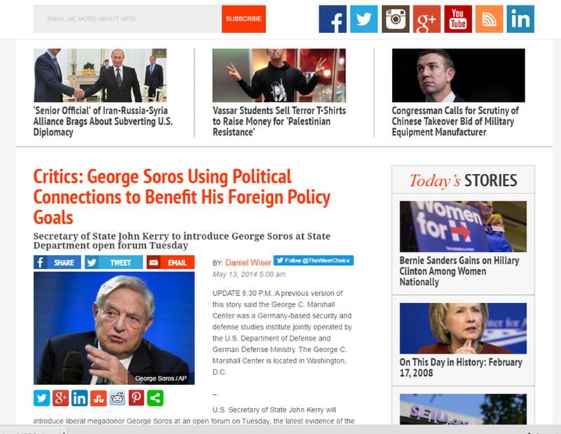 Zbardhen lidhjet e dyshimta të John Kerry-t me George Soros,