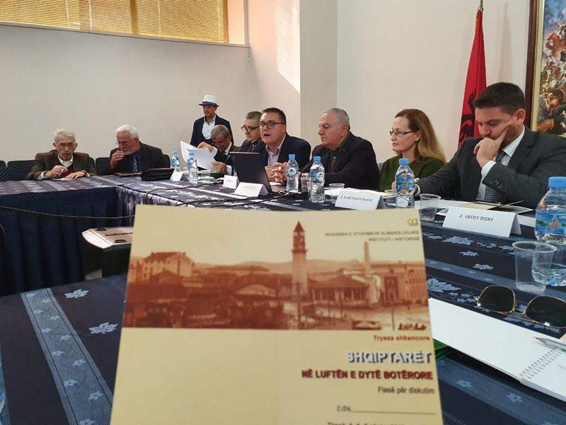 """""""Shqiptarët në Luftën e Dytë Botërore"""","""