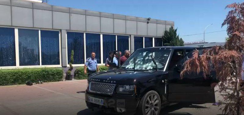 Zbardhen detaje të reja/ Breshëri plumbash ndaj Range Rover-it,