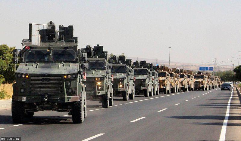 Turqia bombardon Sirinë, Erdogan: Nisi operacioni në Siri me sulme