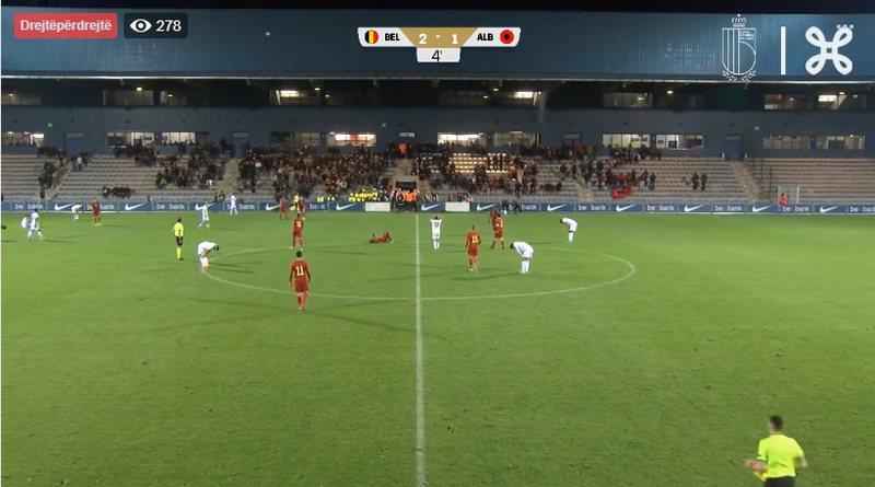 Zbehen shanset për kualifikim/ Shqipëria U19 mposhtet nga Belgjika
