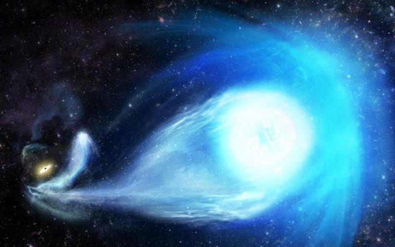 Shkenca zbulon yllin e lëshuar me shpejtësi përmes universit,