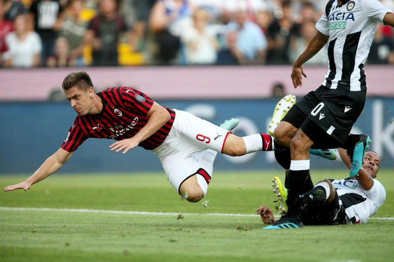 Kampionat i ri, Milan i vjetër