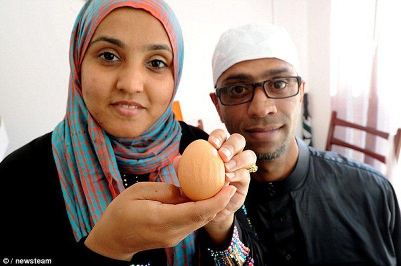 Zoti është kudo! Çifti musliman: Jemi të  bekuar, emri