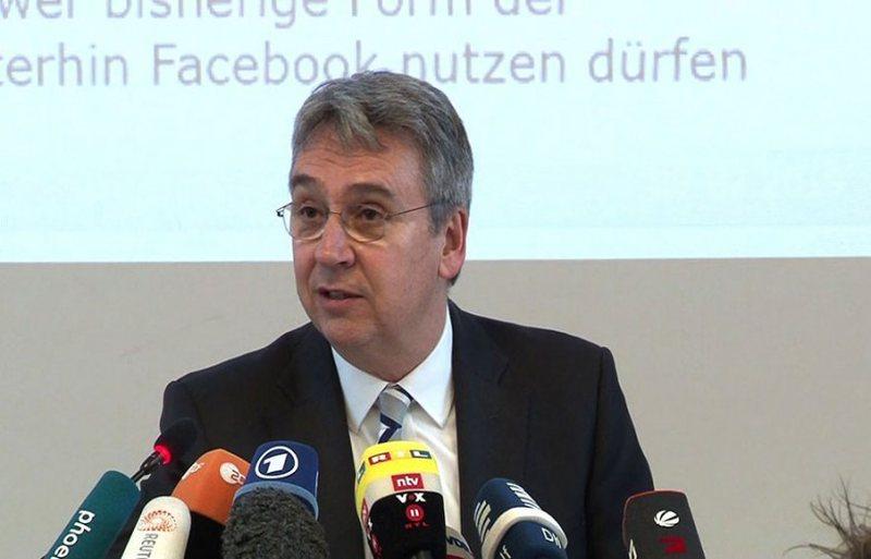 Gjermania kufizon Facebook për mbledhjen e të dhënave