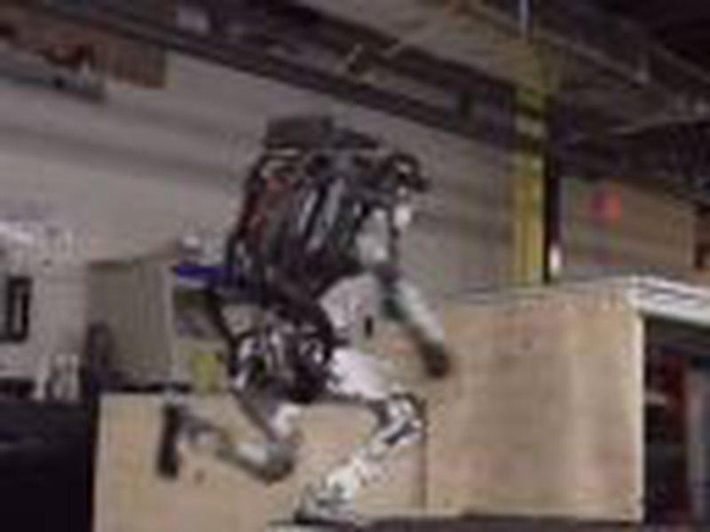 Roboti del jashtë parashikimeve, shikoni si i kalon pa problem të